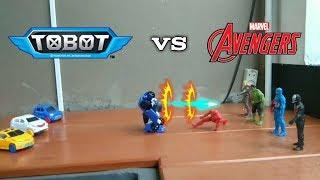 Avengers VS Tobot X