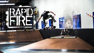 Rapid Fire: Taylor McClung at Woodward Copper