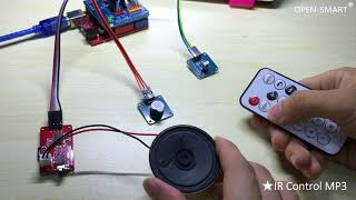 OPEN SMART Red Serial MP3 tutorial