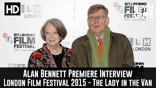 Alan Bennett Interview - The Lady in the Van Premiere