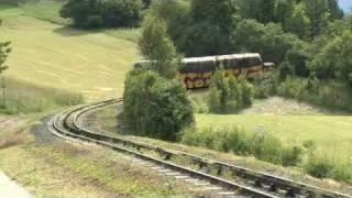 Hinauf mit der Schneebergbahn