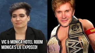 Monica Rial LIE EXPOSED BY Witness! Vic Mignogna & Monica Rial Hotel Room Witness! #iStandWithVic