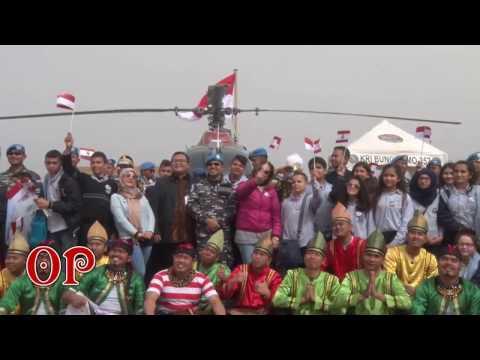 Open Ship KRI Bung Tomo 357 Siswa-Siswi Tyre Community School Lebanon (TCS)