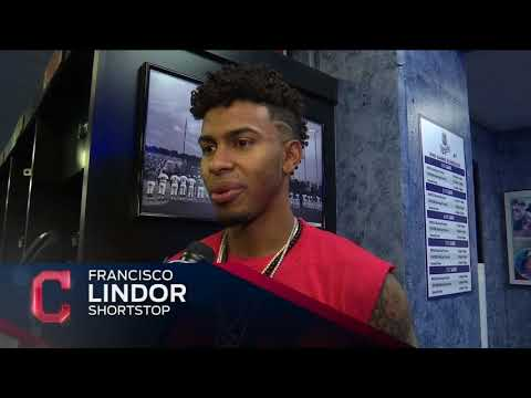 Francisco Lindor feels blessed that Indians are in American League pennant race again