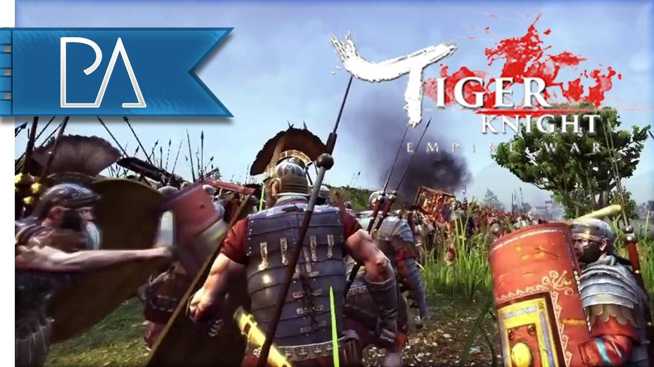 Roman War Machine: Free to Play War Game - Tiger Knight: Empire War Gameplay