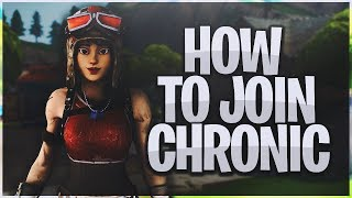 How To Join Chronic