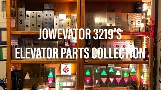 A Detailed Tour Of My MASSIVE Elevator Part Collection!