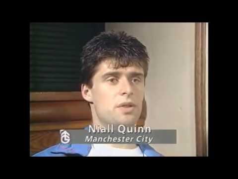 Clive Allen & Niall Quinn,  1989   90 Season Mcfc Man City