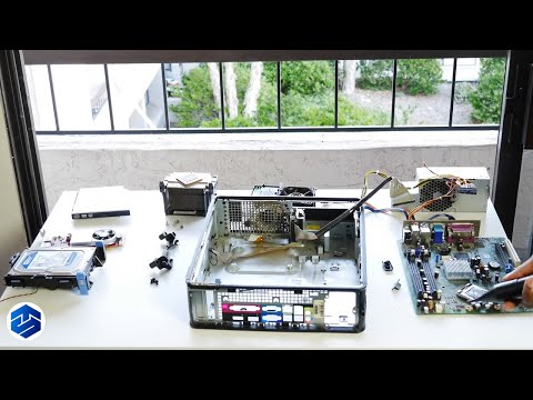 How to replace Motherboard Dell Optiplex Desktop - YouTube