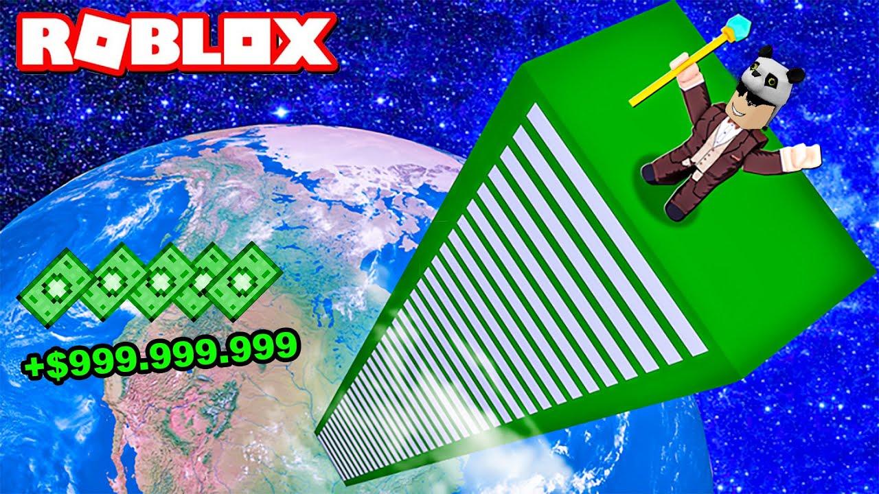 En Tepeye Çıkıp Çok Zengin Oldum!! - Panda ile Roblox Millionaire Empire Tycoon