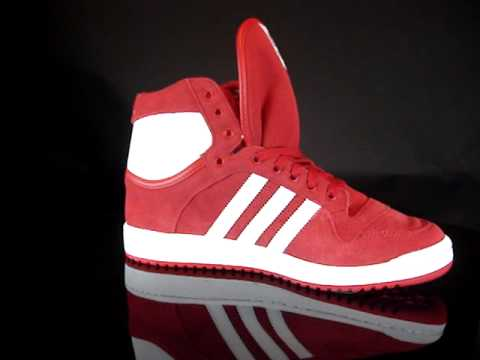 477efe4c499 Adidas Decade OG Mid LightScarlet White Lightscarlet V22903 - YouTube