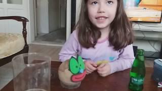 Ecrin'in çim adam videosu. Eğlenceli çocuk videosu.