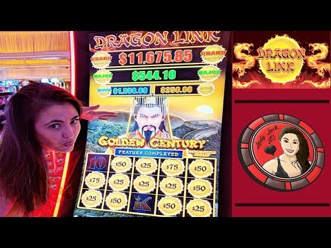 SLOT MACHINE JACKPOT ON DRAGON LINK in VEGAS - High Limit - $25 BET - FREE BONUS GAMES - Encore LV - 동영상