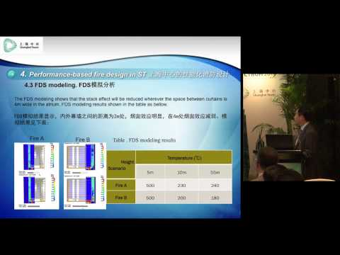 "CTBUH 2014 Shanghai Conference - Youdi Shen, ""Application of Performance Based Fire Safety Design"""