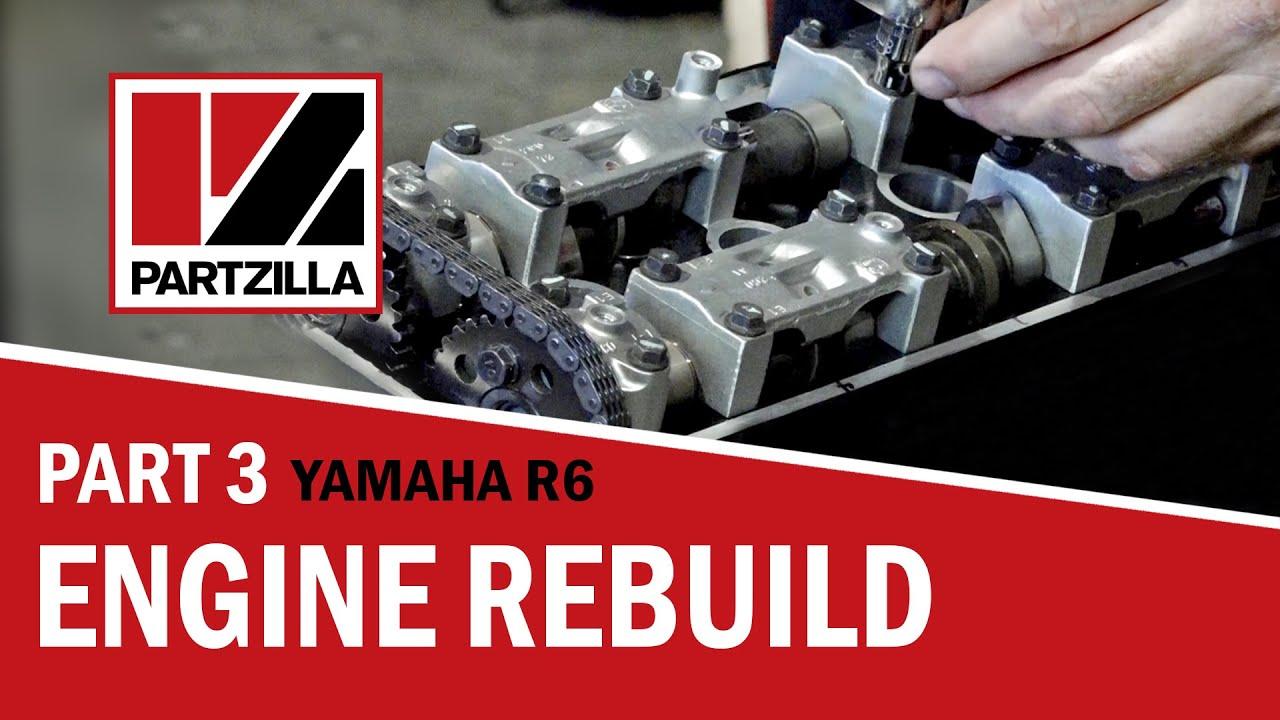 How to Install Yamaha R6 Cylinder Head | Partzilla com