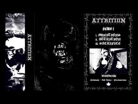 ATTRITION -  Demo 1 Canadian Bestial Black metal