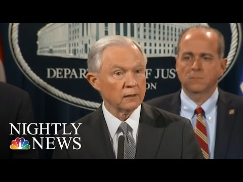 AG Jeff Sessions To Toughen Rules On Prosecuting Criminal Drug Cases | NBC Nightly News