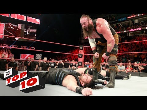 Top 10 Raw moments: WWE Top 10, July 17,...