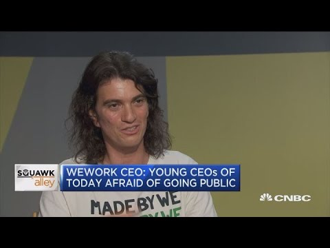 WeWork CEO: WeWork is ready for an IPO