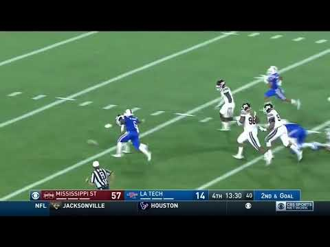 Louisiana Tech just lost 87 YARDS on a fumble to Yakety Sax