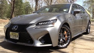 2017 Lexus GS F: Start Up, Road Test & In Depth Review