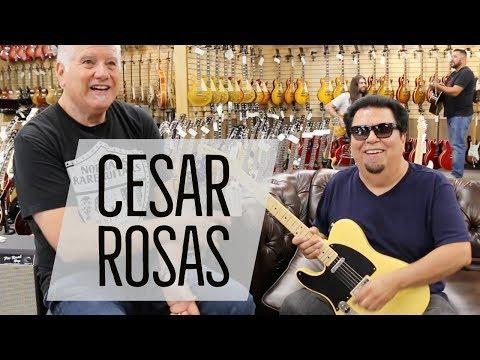 Los Lobos Guitarist & Singer Cesar Rosas | Fender American '52 Telecaster Reissue Lefty