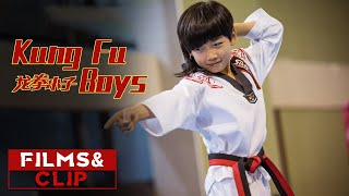 Lin Qiunan Fights Against Many People, Beat A Group of Taekwondo Fighters | Kung Fu Boys