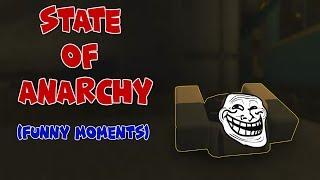 """Nuovo gioco per scherzare con! Roblox """"Stato dell'anarchia"""" (momenti divertenti)"""