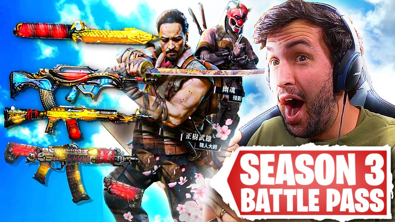 The Season 3 Battle Pass is BEAUTIFUL in COD Mobile