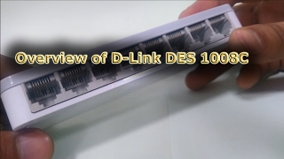 Overview of D-Link DES 1008C