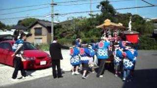 桶狭間神明社2011 秋祭り 神楽会2