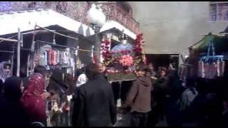 Anjuman-e-hyderi hyderabad Sindh Taboot..8 Rabbi Auwal Chup Tazia..