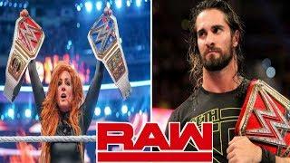 WWE Monday Night Raw 8/4/2019 highlights   wwe raw 8 April 2019 hig...