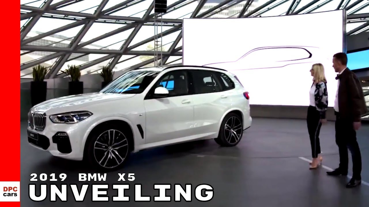 2019 Bmw X5 Unveiling Youtube