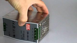 Блок питания на DIN рейку MEAN WELL DR-120-12(, 2011-08-06T13:29:09.000Z)