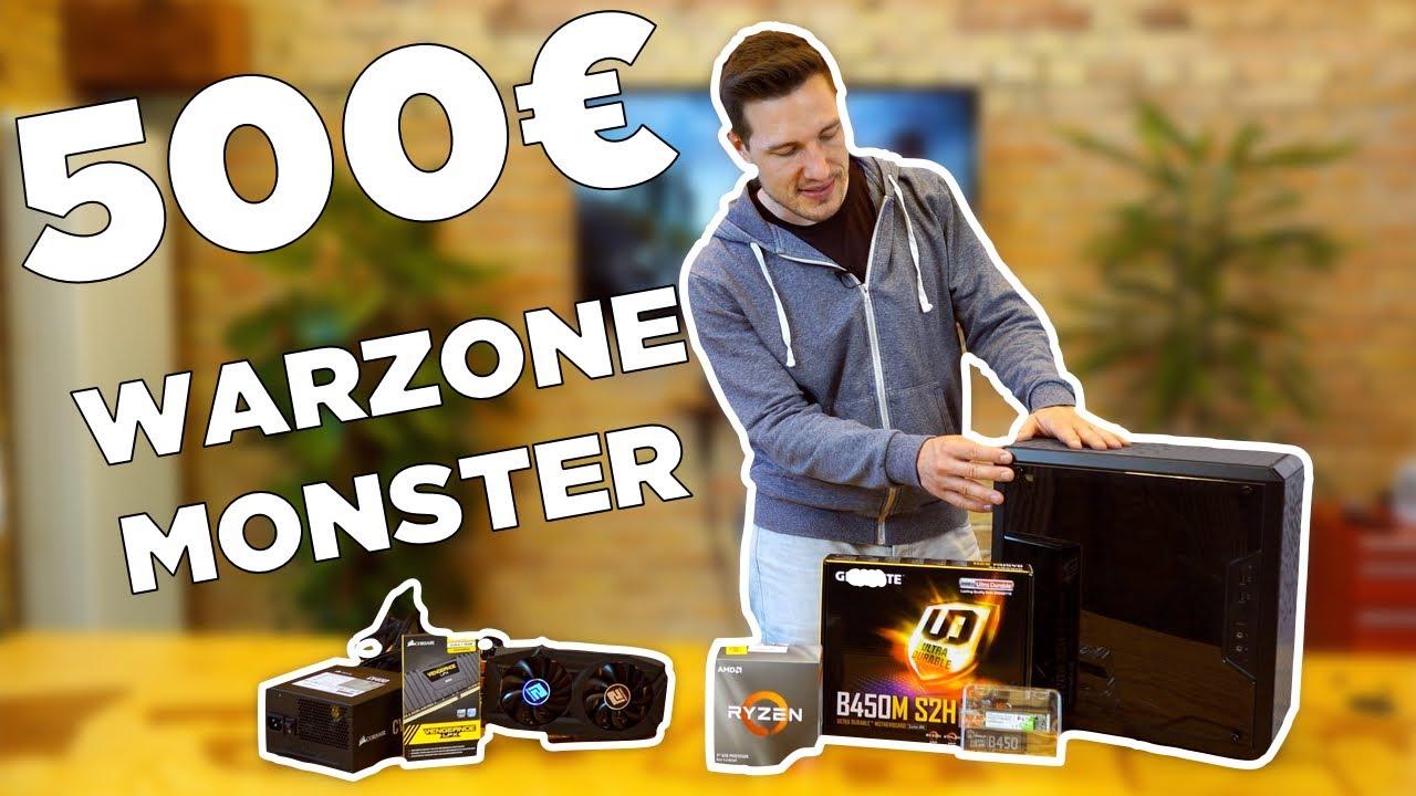 500€ Gaming PC für COD WARZONE - Ryzen 3 3300X