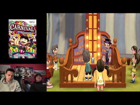 Carnival Games (Wii) with Ghostpig! |