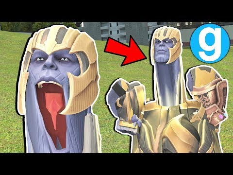 New FNAF & Thanos Chasing NPC Fusions! [Garry's Mod Sandbox] Five Nights at Freddy's thumbnail