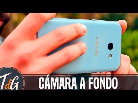Samsung Galaxy A5 2017, Cámara a fondo