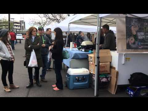 The Boise Farmers Market's first day of the 2015 season