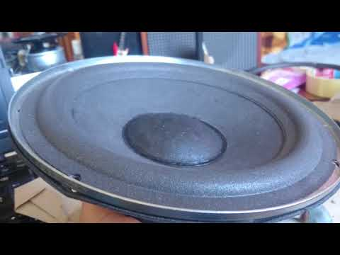 RCF L8/011 from RCF BR4020 speakers - Free-Air Test - ciro589m