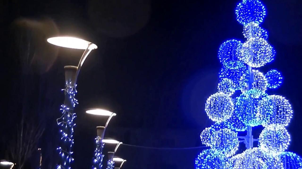 noel 2018 a biarritz Noël 2017. Magnifiques illuminations de vagues scintillantes sur  noel 2018 a biarritz