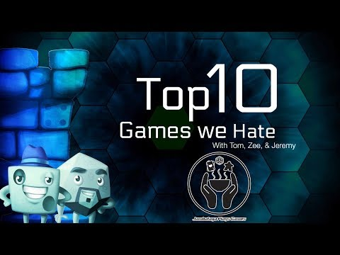 Top 10 Games We Hate (featuring Jeremy Howard)