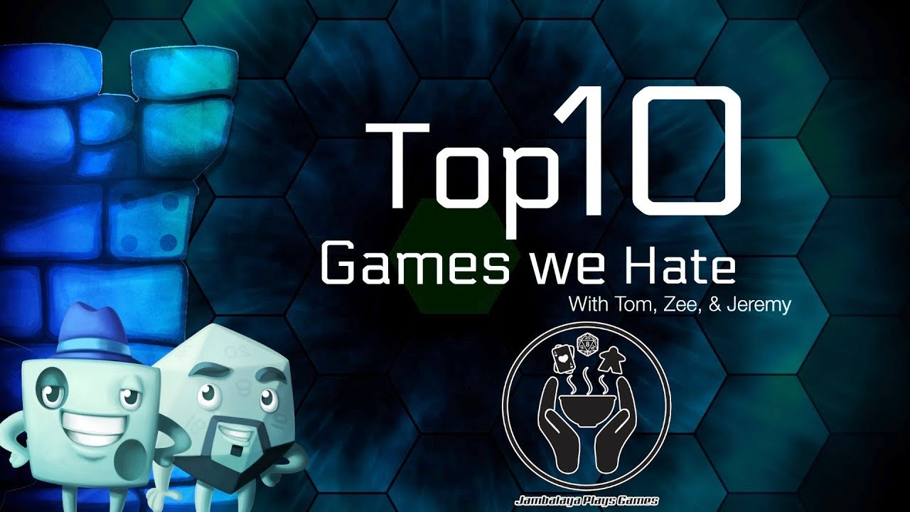 Download Top 10 Games We Hate (featuring Jeremy Howard)