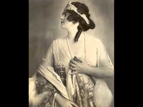 German Soprano Lotte LEHMANN:   Waltz Song from Lehar's