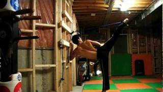 How to Strengthen your legs for power kicks