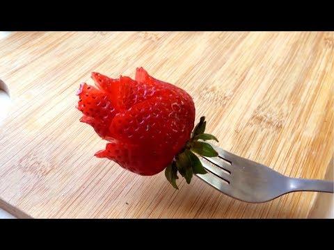 How To Make A Strawberry Rose