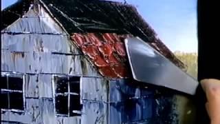 Bob Ross - Malerei Dachziegel - Malerei Video