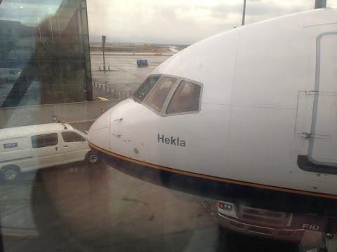 Icelandair 757-200 Takeoff From London Heathrow