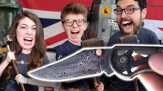 Damascus 3D Printed Knife with Alec Steele!